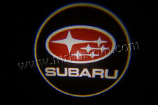 Subaru LED Door Projector Courtesy Puddle Logo Lights Red