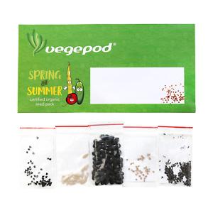 Vegepod Australia Spring / Summer Certified Organic Seed Pack