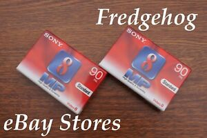 2 x SONY P5-90 MP HIGH GRADE Video 8 / 8mm / Hi8 CAMCORDER TAPES / CASSETTES