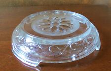 Hocking Sandwich Crystal Clear Punch Bowl/Display Stand