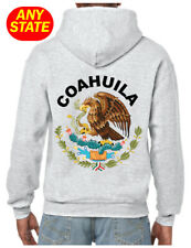 Escudo Mexico Mexican Hoodie Eagle Aguila States MX pride Sudadera Hooded Ash