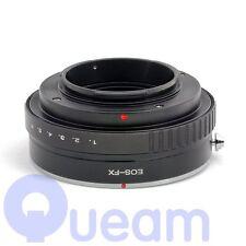 Pixco Abertura ajustable Canon EF EOS Lente Adaptador X-T1 X-E1 Fujifilm FX
