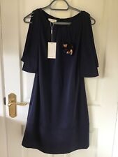 BNWT MONSOON NAVY SHIFT DRESS SIZE 8 WAS £120 STUNNING MUST SEE