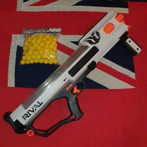 Nerf Rival Phantom Corps Hades Blaster Gun 100 Foam Rounds Balls JOB LOT BUNDLE