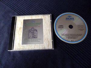 CD Gregorian Chant Choral Münsterschwarzbach Christmas Weihnachten DG Archiv