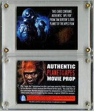 Tim Burton Planet of the Apes Ape Wardrobe Fur ~ Authentic Movie Prop Card