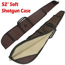 Leather Canvas Shotgun Case Gun Carry Bag For shotguns up to 50 1/2 inches