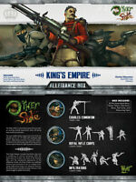 Malifaux The Other Side King´s Empire Allegiance Charles Edmonton box Wyrd