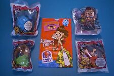 Taco Bell 1997 - Ace Ventura - Complete Set of 4 MIP plus Sack