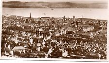 Dundee, A View From Law,Photographic Postcard Posted.SEE SCANS