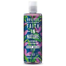Faith In Nature Shower Gel & Bath Foam Range 400ml *Natural Skin Care Body Wash*