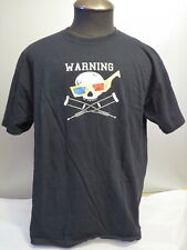 Jackass 3 Movie Promo Shirt - Skull with 3D Glasses Graphic - Men's XL