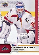17/18 UPPER DECK AHL #22 MATISS KIVLENIEKS CLEVELAND MONSTERS *47770