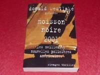 [BIBL.H.& P-J.OSWALD] WESTLAKE/ MOISSON NOIRE 2001 Nouvelles policières US 1/850