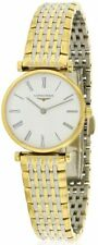 Longines Women's Gold Plated Strap Adult Wristwatches