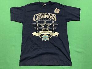 Vintage Dallas Cowboys Super Bowl XXVIIV 1993 Champions Adult Large T Shirt
