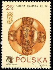 Scott # 1984 - 1973 -  ' Polska 73 Emblem & Kalisz Paten, 12th Century '
