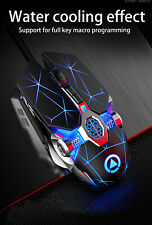 LED Light Backlit USB Wired Silent Optical Gaming Mouse For PC Laptop Mice