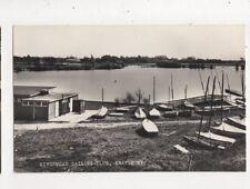 Kingsmead Sailing Club Wraysbury 1975 RP Postcard 851a #1