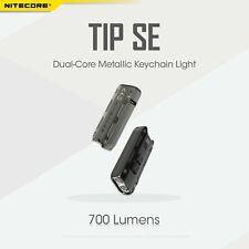 Nitecore TIP SE  2x Osram P8 Type-C Charge Pocket Keychain Magnetic Torch BLACK