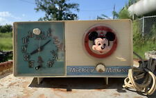Vintage General Electric Mickey Mouse Clock Radio Clock Youth Electronics Works