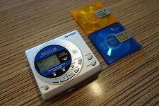 Sharp Minidisc Player Recorder MT15  / Top Sound MD Gerät (387) für AA Batterie