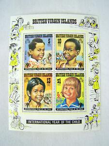 British Virgin Islands International Year Of The Child 1979 Europe, Asia, Africa
