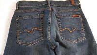 7 For All Mankind Jeans Womens 28 RUNS SMALL Boot 28 x 32 Actual Fits SZ 25/26
