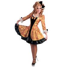 vestito nero bronzo barocco costume carnevale donna tg 36 - 38 abito