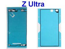 Pour SONY XPERIA Z Ultra XL39h Adhésif Sticker Autocollant Vitre Avant + Arrière