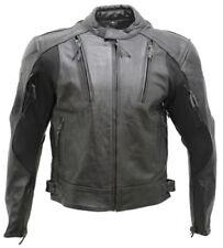 Manteaux et vestes noirs en cuir pour homme taille XL