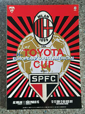 More details for 1993 - club world cup final programme - ac milan v sao paulo - v.g condition