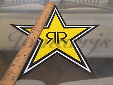 "1~ Medium 10"" Authentic Rockstar Energy Drink Sticker Decal Sign Logo BMX Race"