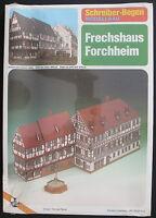Schreiber-Bogen JFS-72235 - Frechshaus Forchheim - 1:160 - Papier Modellbausatz