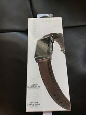 Nomad Classic Strap Horween Leather for Apple Watch 38mm brown