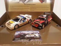 Slot SCX Scalextric Superslot H3267A Classic RallyCross Ford RS200 vs Metro 6R4