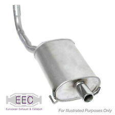 Fits Audi A4 B6 1.8 T Quattro EEC Exhaust Pipe Back Box Left End Silencer