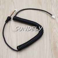 Microphone Cord Cable for Yaesu MH-48A6J MH-42B6J FT-2900, FT-2900R Mic