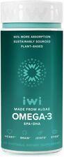 iWi Algae Omega-3 Vegan EPA DHA 850 mg 30 Softgels [New Packaging]