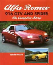 Alfa Romeo 916 GTV & Spider Complete Story (JTS Cup Chassis Numbers) Buch book