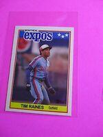1988 Topps TIFFANY, UK American Baseball Mini,  MINT Tim Raines #58 Rare!