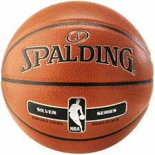 Spalding 5178 NBA Silver Basketball - Size 7
