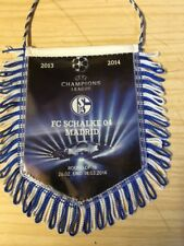 Uefa Champions League Banner Schalke Vs Real Madrid  2013/14