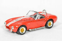 SHELBY COBRA 427 1964 1:43 Model Die Cast Toy Car Models Miniature Red