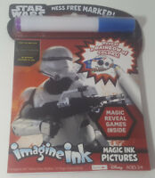 NEW Bendon Star Wars The Force Awakens Imagine Ink Mess Free Game Book