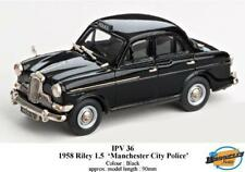 1958 RILEY 1.5 MANCHESTER CITY POLICE Brooklyn NERO 1:43