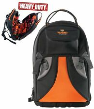 Rugged Tools Tradesman Tool Backpack - 28 Pocket Heavy Duty Jobsite Tool Bag