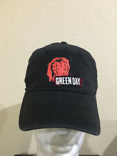 Green Day Faded Black Color Hat Cap - Green Day Grenade Stretch Fit  Faded Cap