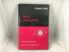 Man Unfolding Jonas Salk Ruth Nanda Anshen Hardcover Book World Perspectives
