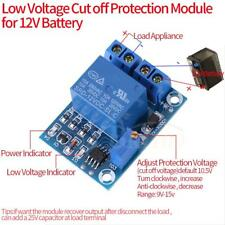 12V Battery Low Voltage Cut off Switch Controler Excessive Protection Module coi